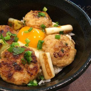 比内地鶏のつくね丼(のものキッチン 秋葉原店 )