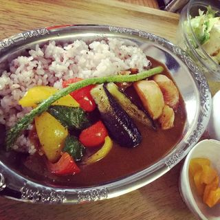 野菜カレー(昼ごはん夜カフェ)