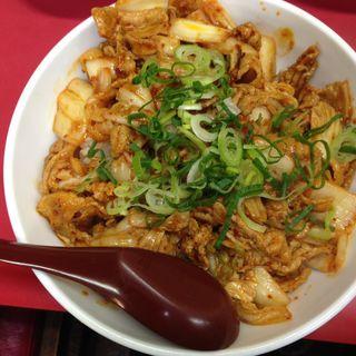 豚キムチ丼(味悟空 三国店 (アジゴクウ))