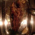 魚の炭火焼(ワカシ)