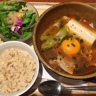 PARK特製純豆腐チゲ(カフェ パーク)