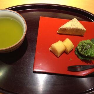 季節の和菓子デザートセット(天ぷら割烹 嵯峨野 (さがの))