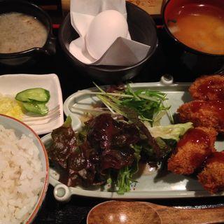 カキフライ定食(裏神田 自然生村 )