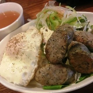 サラダ丼(ソンリーサカフェ (sonrisa cafe))