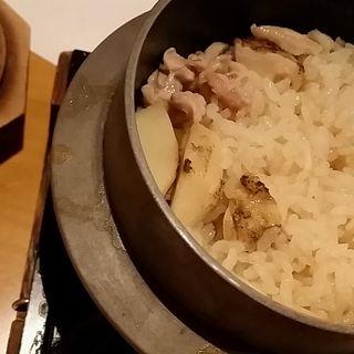 釜飯 松茸(道頓堀 あかい )
