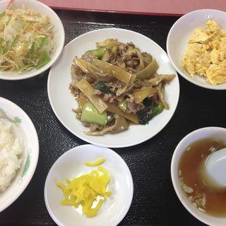 まいたけ炒め定食(中華メモリー)