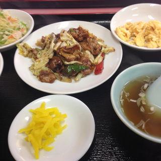 回鍋肉定食(中華メモリー)