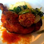 鶏モモ肉ローストランチ