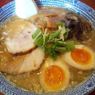 特製醤油ラーメン+味玉 (だいろく )