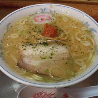 赤湯からみそミニらーめん (龍上海 横浜店 (リュウシャンハイ))