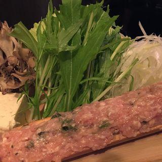 博多コラーゲン水炊き(薩摩国鶏 (サツマクニドリ))