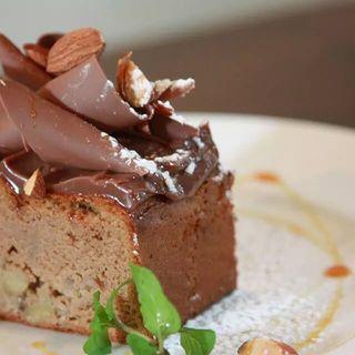 栗とチョコレートケーキ(AGカフェ (AG cafe))