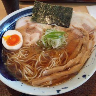 中華そば 【 醤油  細麺 】(琥珀 (こはく))