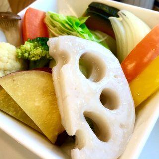 ランチセット 旬の温野菜盛り合わせ(茶茶の間 )