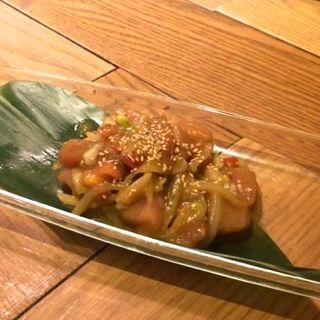 マグロとアボカドのハワイアンマリネ(ジンナンカフェ (JINNAN CAFE))