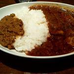 大辛チキン&キーマカリーライス(フィッシュ (Fish))