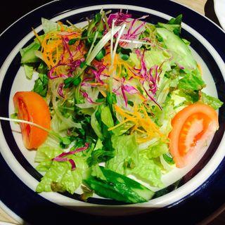 野菜たっぷりグリーンサラダ(焼肉たむら)