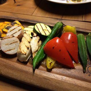 野菜グリルの盛り合わせ(Pali Kari パリカリ)