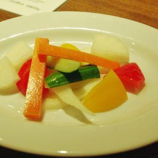 彩り野菜のピクルス(NOVO)