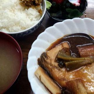 大トロカジキ煮定食(魚力)