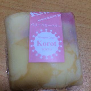 ベリベリクレープ(ラップド クレープ コロット 有楽町メトロ店 (Wrapped Crepe Korot))