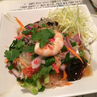 Spicy Rice Vermicelli Salad(スパイス・マーケット)