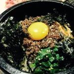 石焼ビビンバ(焼肉たむら)