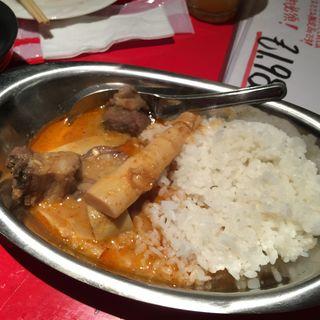 イノシシ肉のカレー(珍獣屋 )