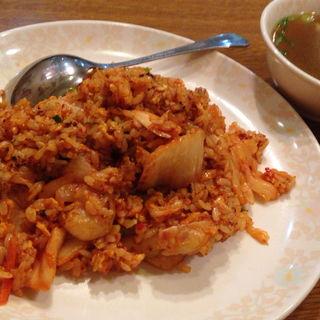 キムチチャーハン(香港菜館 (ホンコンサイカン))