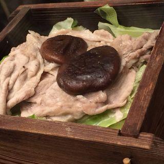 豚の肉のせいろ蒸し(旬和席 うおまん 三ノ宮店 (しゅんわせき うおまん))