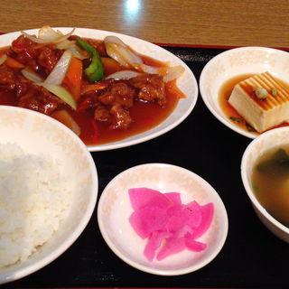 酢豚定食(香港菜館 (ホンコンサイカン))