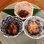 三種の小鉢