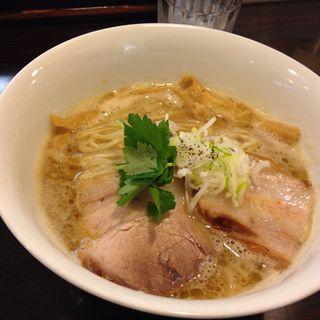 醤白湯(Tsurumen 大阪城北詰店 (ツルメン【旧店名】らぁ麺 Cliff))