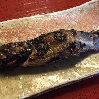 岩魚塩焼き(うかい鳥山 (うかいとりやま))