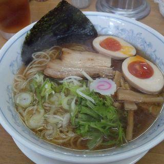 ラーメン+味付玉子(地鶏卵)(食味の道有楽 )