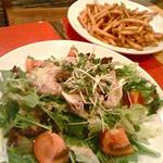 豚しゃぶの胡麻サラダ