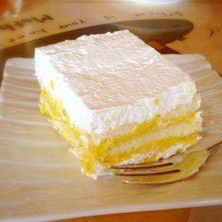 カボチャのココナッツケーキ(A to Z cafe (エートゥゼットカフェ))