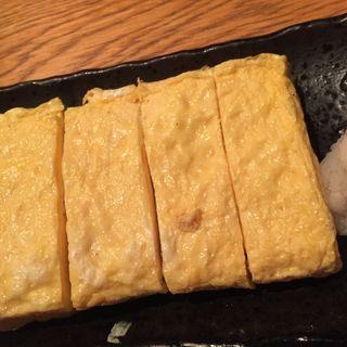 自家製出汁巻き玉子焼(魚金 本店)