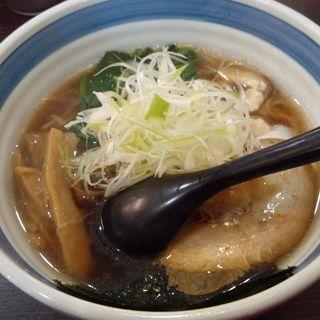九十九里煮干しらー麺(麺屋あらき 竈の番人 東金店)