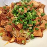 汁なし麻婆豆腐麺