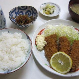 あじフライ定食(かご平 )