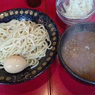 つけ麺(並300g)+半熟味付玉子(つけ麺 神田もといし 東岩槻店)