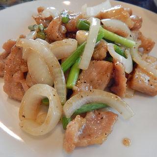 豚肉の黒コショウ炒め(皇華蘭 )