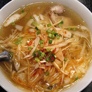 鶏チャーシューネギ塩麺(媽媽厨房)