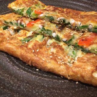 海鮮チヂミ(韓国料理・焼肉  慶州)