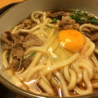 煮込みうどん定食(にし富 (にしとみ 西富))