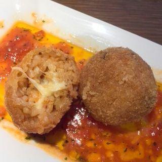 モッツアレラチーズのライスコロッケ(タントチッタ (Tanto Citta))