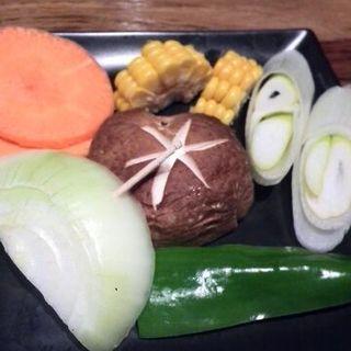 野菜の盛り合わせ(赤坂 大関)