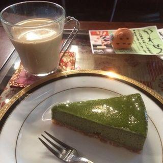 抹茶チーズケーキ(らん布袋 (らんほてい))