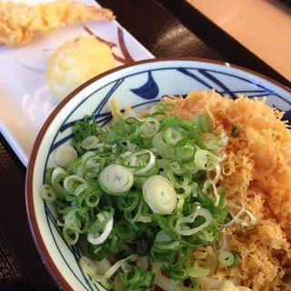 ぶっかけうどん(並) 温(丸亀製麺 京都洛西店 (まるがめせいめん))